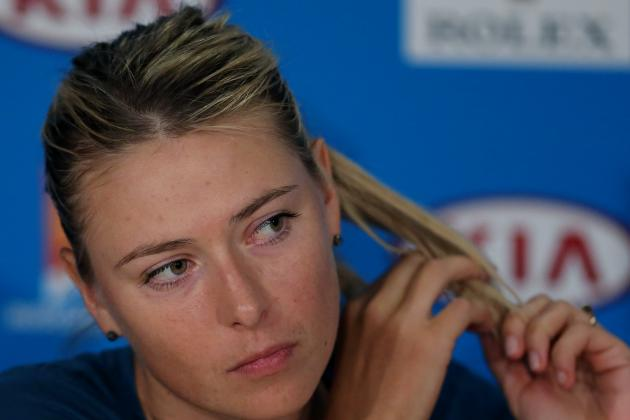 Maria Sharapova Comments on Upset Loss to Dominika Cibulkova