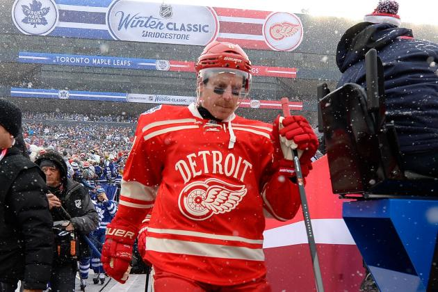Detroit Red Wings Injury Report: Daniel Alfredsson Getting Closer; Others Murky
