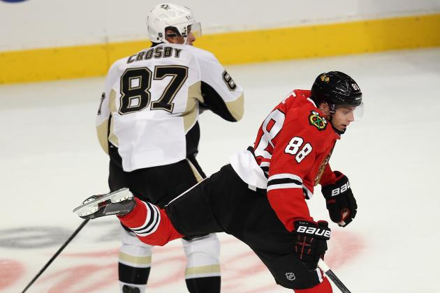 Kane Strives to Be More Like Penguins' Crosby