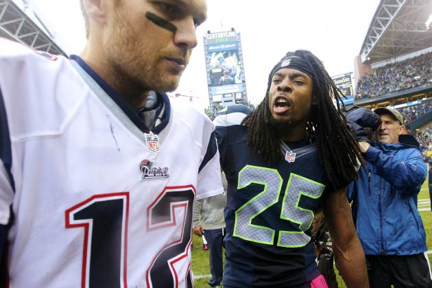 Tom Brady Comments on Richard Sherman's Personality and Antics