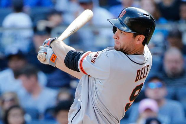 Brandon Belt, Giants Not Close with Arbitration Figures