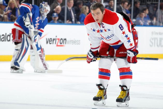 Ovechkin After 4-1 Loss to Rangers: 'We Say Too Much, Go out There and Do It'