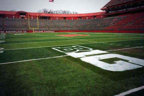 RU's Stadium Already Has B1G Logo Painted on Field
