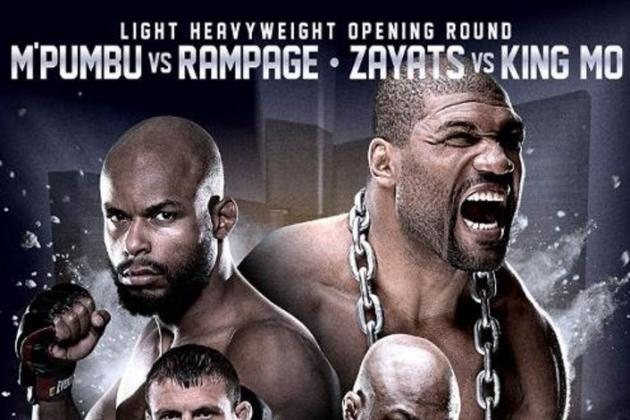 Rampage Jackson vs. Christian M'Pumbu Booked for Bellator 110