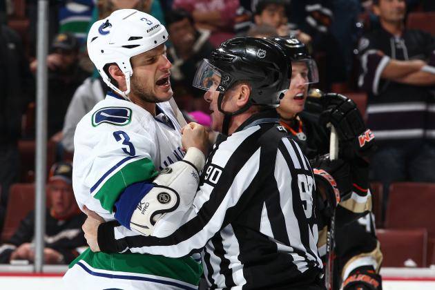 Bieksa Won't Face Ban for Hallway Altercation