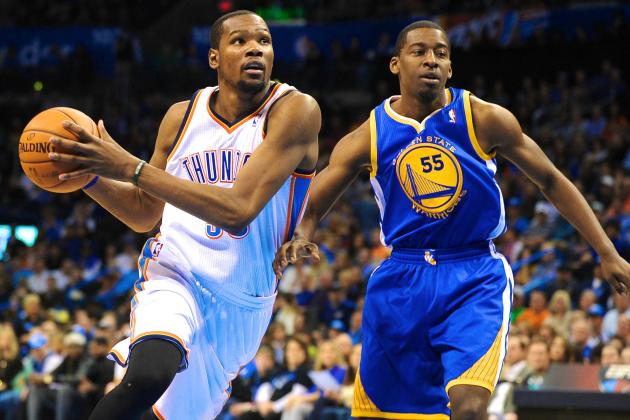 Kevin Durant and Paul George Named NBA Players of the Week for January 13-19