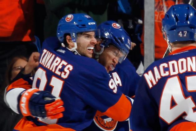 Islanders 4, Flyers 3 (*SO): Isles' Turn for 3rd-Period Comeback