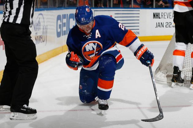 Okposo Gives Islanders Shootout Win Against Flyers