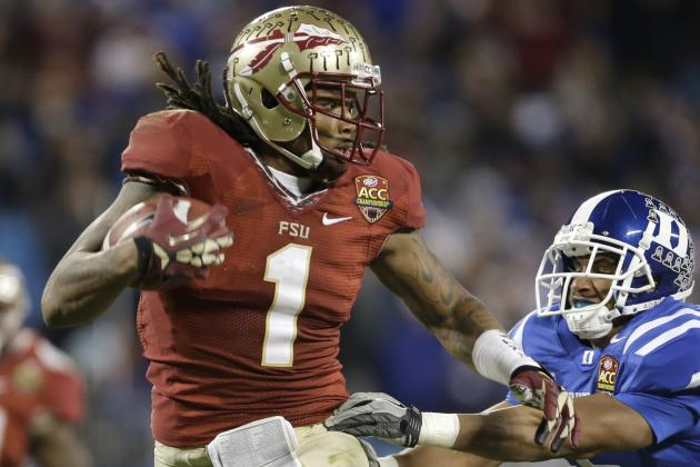 Why Florida State WR Kelvin Benjamin Is a Risky 1st-Round Pick