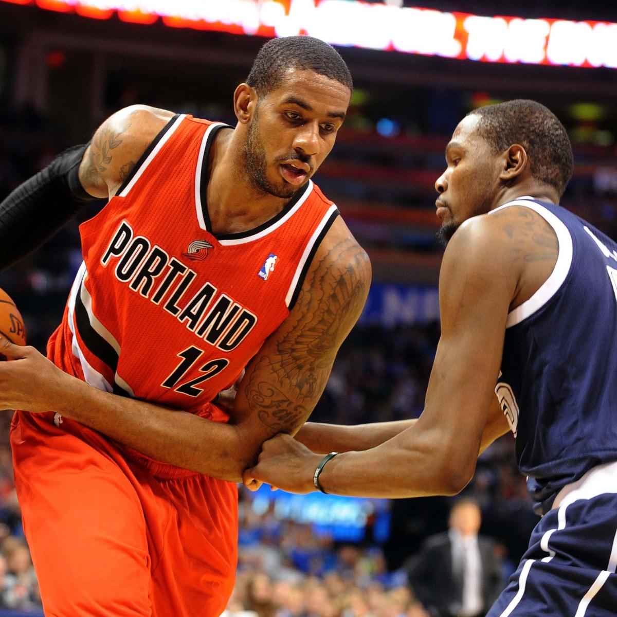 Portland Trail Blazers At Oklahoma City Thunder: Full