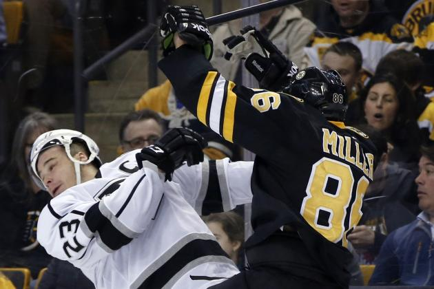 Bruins' Kevan Miller Lays out Kings Captain Dustin Brown with Enormous Hit
