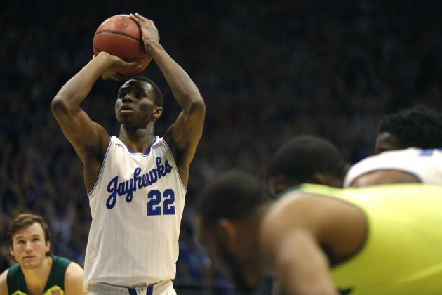 Andrew Wiggins Playing His Way into Big 12 Player of Year Honors