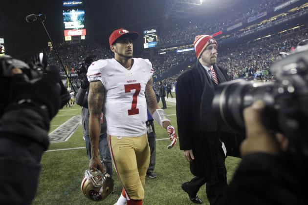 San Francisco 49ers: Colin Kaepernick Is Not Fully to Blame for Sunday's Loss