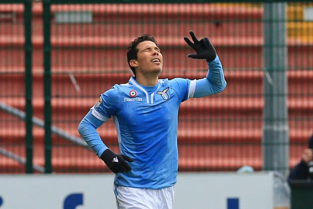 Liverpool Transfer News: Hernanes Only Available from Lazio for 'Indecent Offer'