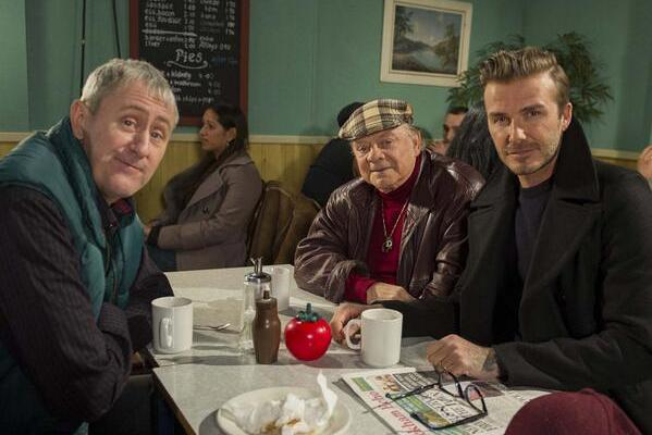 David Beckham Set for 'Only Fools and Horses' Role for Sport Relief