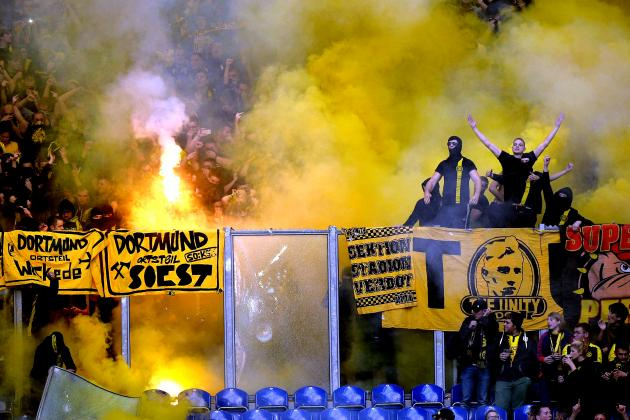 Schalke Ban Nearly 500 Dortmund Fans for 5 Years After Crowd Trouble