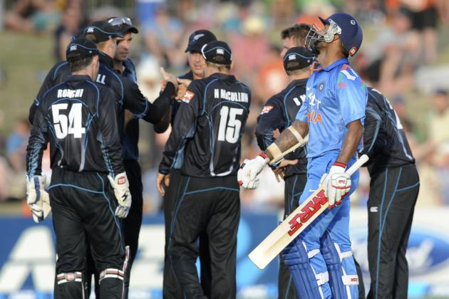 New Zealand vs. India, 2nd ODI: Date, Time, Live Stream, TV Info and Preview