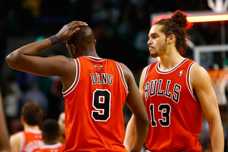 Joakim Noah Says Luol Deng Is His 'Brother,' Wants to 'Kick His A**' in Reunion