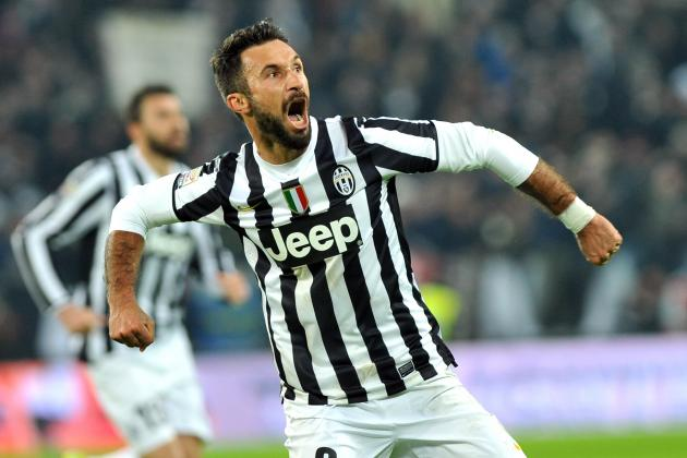 Arsenal Transfer News: Mirko Vucinic in Talks over Juventus-to-Inter Move