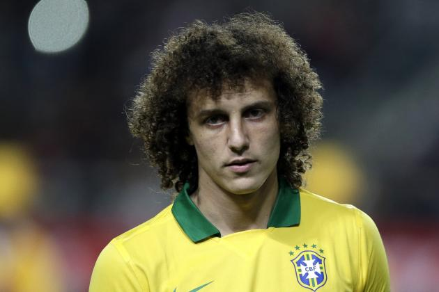 David Luiz the Midfielder: Could Chelsea Star Play There for Brazil?