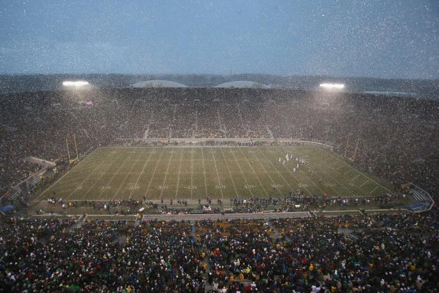 Notre Dame Top Ranked in College Football on List of Best Stadium Experiences