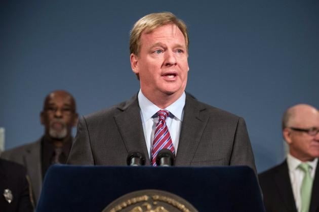 Roger Goodell Comments on Sitting Outside at 2014 Super Bowl