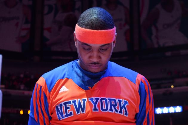 Why Would Carmelo Anthony Want to Re-Sign with These New York Knicks?