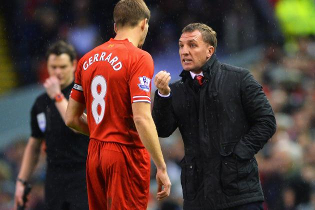 Brendan Rodgers Must Rest Key Liverpool Players in FA Cup Match at Bournemouth