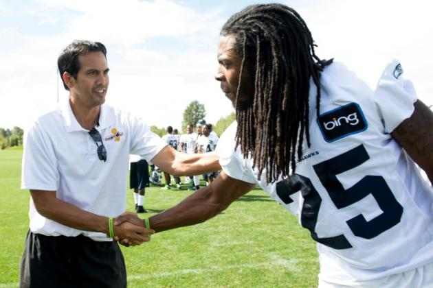 Erik Spoelstra Roots for Seahawks After Preseason Pep Talk