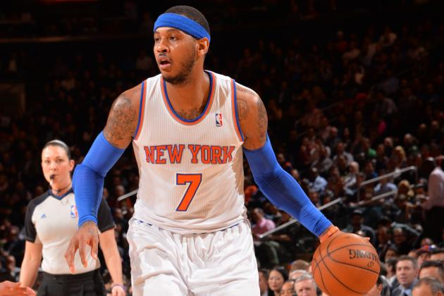 NBA Players and Coaches Reportedly Expect Carmelo Anthony to Leave NY Knicks