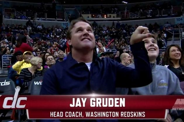 Jay Gruden Does the John Wall Dance (Video)