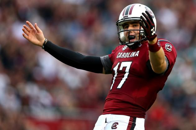 Steve Spurrier Wise to Name Dylan Thompson South Carolina's Starting QB