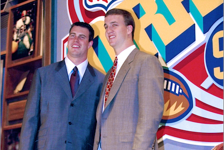 Ryan Leaf's Former Agent Claims QB Convinced Colts to Draft Peyton Manning