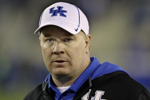 Stoops Still Rounding out UK Football's 2014 Recruiting Class