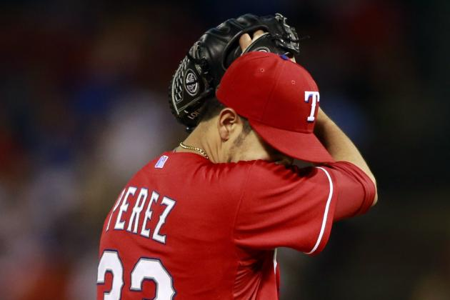 If Martin Perez Can Keep Emotions in Check, He Could Realize His Full Potential