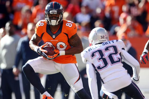 Super Bowl 2014: Demaryius Thomas Will Carry Denver Broncos to Lombardi Trophy