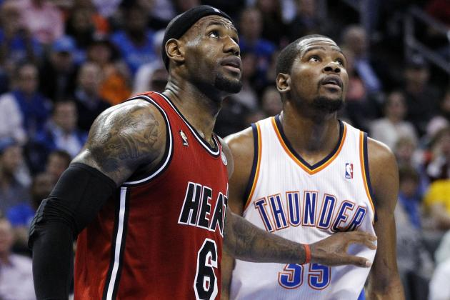 Budding LeBron James-Kevin Durant Rivalry on Full Display with 2014 MVP Battle