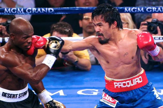 Manny Pacquiao Will Fight Timothy Bradley on April 12