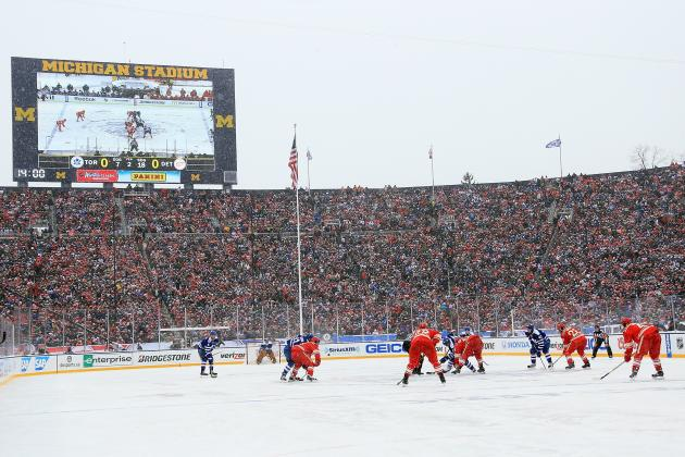 Dave Lozo's Bag Skate: The NHL Should Play as Many Outdoor Games as Possible