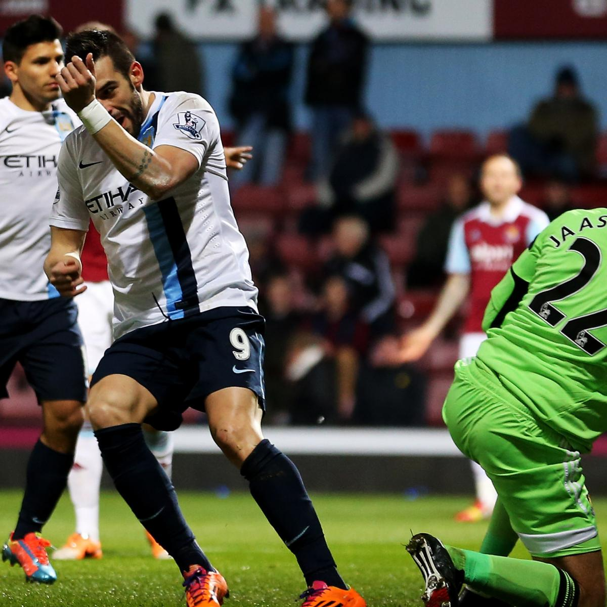 West Ham Vs. Manchester City: Capital One Cup Live Score