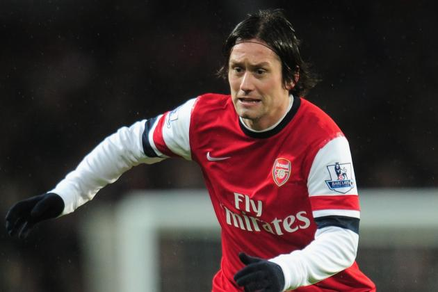 Arsenal Transfer Rumours: Tomas Rosicky Contract Delay Tempts Bayern Munich