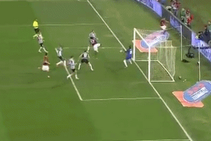 GIF: Gervinho Scores Volleyed Winner for Roma vs. Juventus