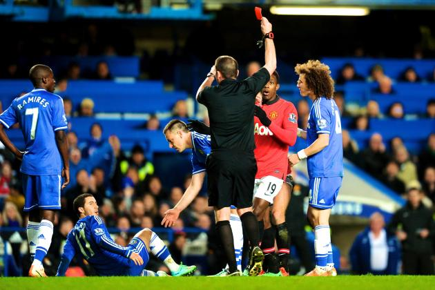 Nemanja Vidic Suspended 3 Matches as FA Rejects Red-Card Appeal