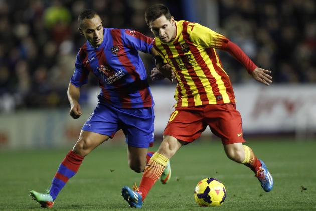 Levante vs. Barcelona: Date, Time, Live Stream, TV Info and Preview