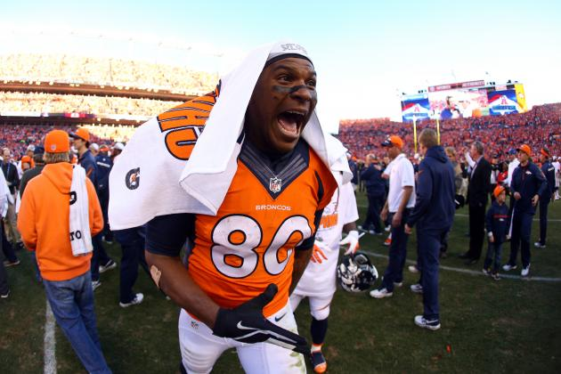 5 Takeaways from Julius Thomas' Performance in AFC Title Game