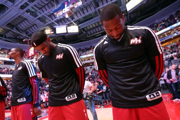 LeBron: Wade's Injury Woes 'Tough' on Heat