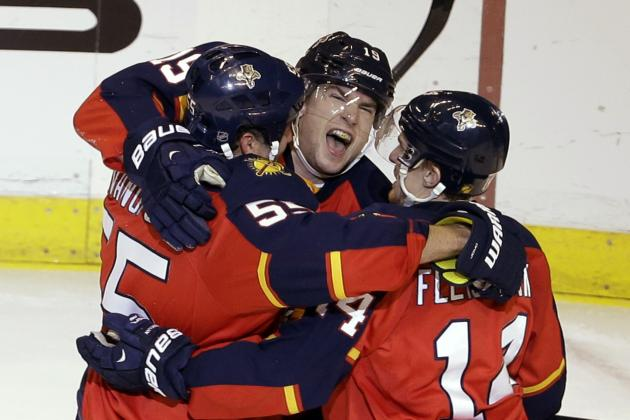 Jovanovski Sparks Panthers to 4-3 Win over Sabres