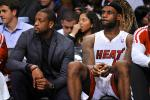 LeBron: Wade's Knee Issues Have 'Hurt Us'