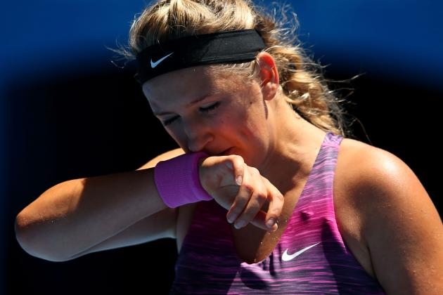 2-Time Champ Azarenka Falls in Aussie Open Quarters