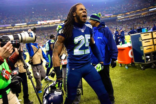 Richard Sherman Among 3 Seahawks Players in Top 10 for NFL Jersey Sales